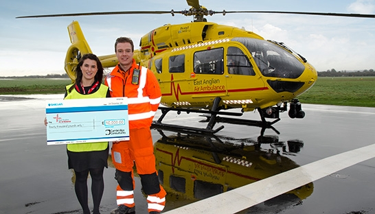 Cambridge Consultants supports East Anglian Air Ambulance